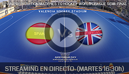 PARTIDO SPAIN-GREAT BRITAIN 10h FEBRUARY 2015