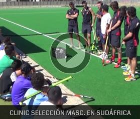 Clinic Selección Española Absoluta en Sudáfrica