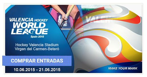 Web oficial VALENCIA HOCKEY WORLD LEAGUE SPAIN 2015 - Venta de entradas