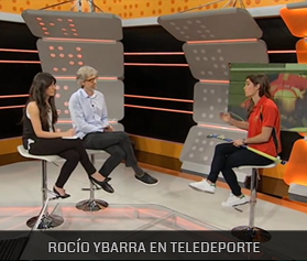 ROCIO YBARRA EN TELEDEPORTE