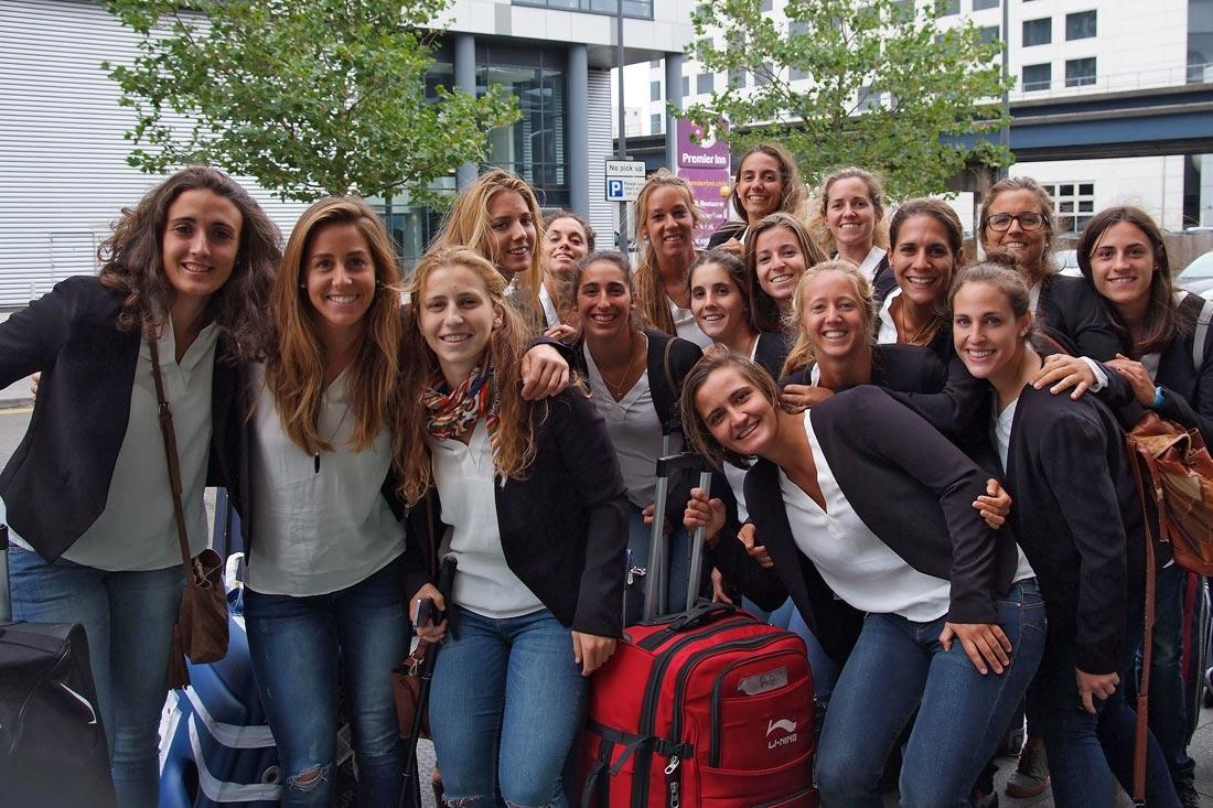 EuroHockey Londres 2015 - Previa - Selección Española Absoluta de Hockey Hierba