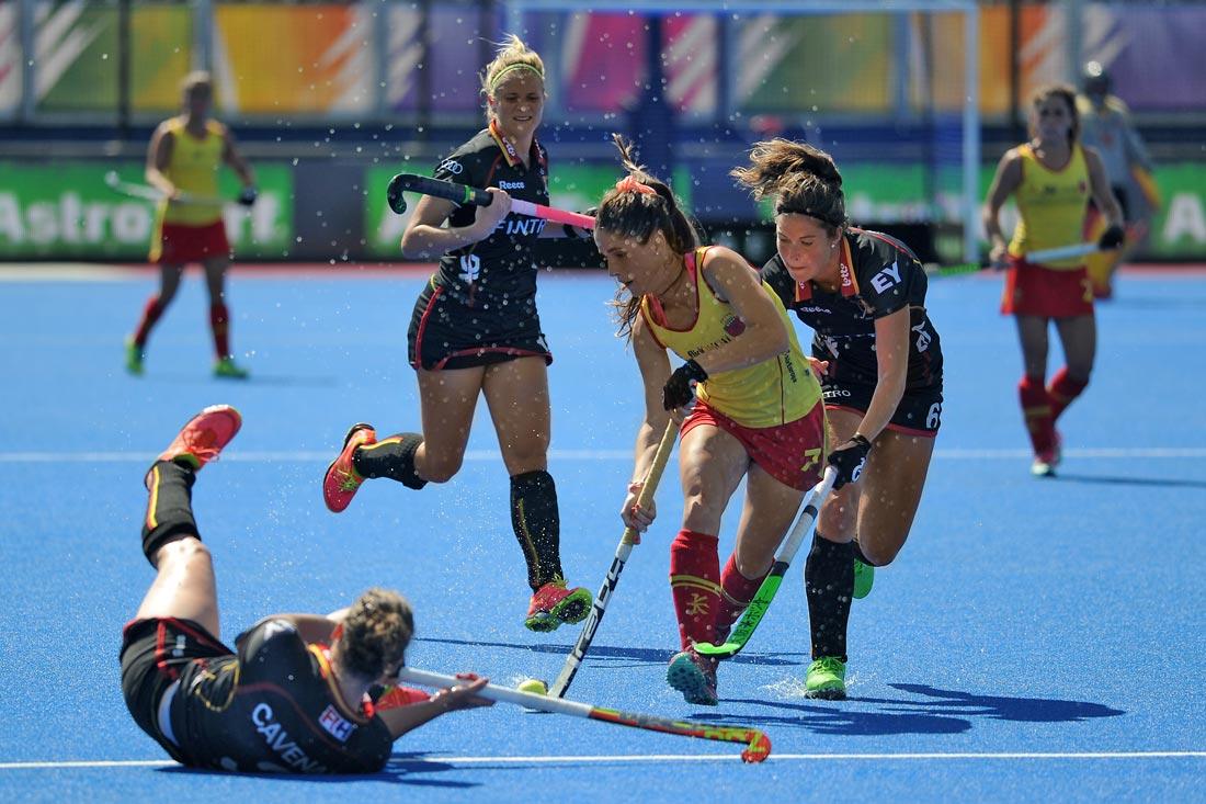 EuroHockey Londres 2015 - Spain Vs Belgica - Selección Española Absoluta de Hockey Hierba