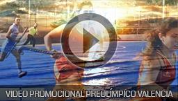 Video promocional Preolimpico Valencia 2015