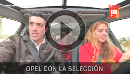 Opel con la Selección Española Femenina - Opel Zafira
